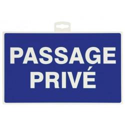 Taliaplast - Panneau - Passage Privé