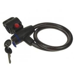 Câble Antivol Pour Bicyclette - Ø 12 Mm