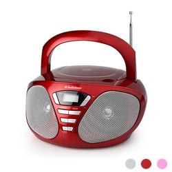 Radio CD AudioSonic - CD1568 Rouge