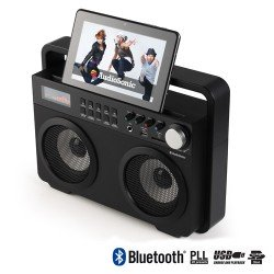 Radio Vintage MP3 Bluetooth AudioSonic RD1557