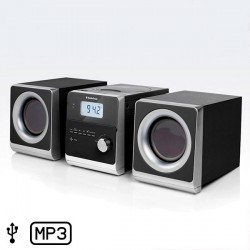 Minichaîne Hi-Fi AudioSonic HF1260