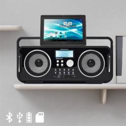 Radio Vintage Bluetooth Rechargeable AudioSonic RD1556