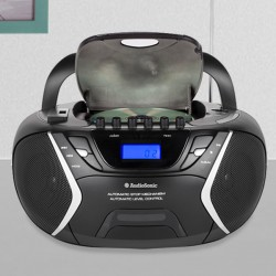 Radiocassette CD USB MP3 AudioSonic CD1596