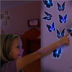 Papillon LED à ventouse