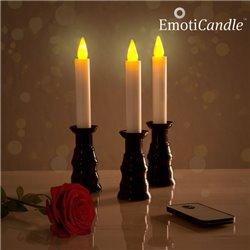 Bougies LED Ambiance Romantique EmotiCandle (pack de 3)