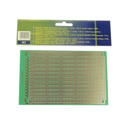 EUROCARD POUR CI- 100x160mm - FR4 (25pcs/boîte)