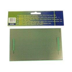 EUROCARD SUBD25/CENTR - 100x160mm - FR4 (25pcs/boîte)