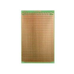EUROCARD PASTILLE 2 TROUS - 100x160mm - FR4 (1pc/bl)