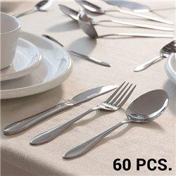 Ménagère en Acier Inoxydable (60 pièces)