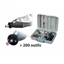 Perceuse  Xspeed + 200 Outils