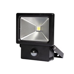 Projecteur Led D'Extérieur Avec Capteur Pir - 10 W - Blanc Neutre