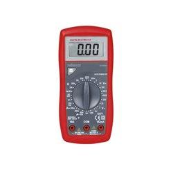 Multimètre Numérique - Cat. Iii 600 V - 10 A -  Fonction Data-Hold / Test De Diodes / Test De Batterie / Ronfleur