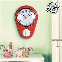 Horloge Murale Minuterie Vintage Coconut