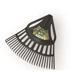 Balai à feuilles/gazon plastique largeur 64cm sans manche