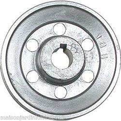 Poulies en aluminium. Axe 24 mm Poulie 120 mm