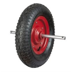 Roue Ø 380 mm gonflable pour brouette