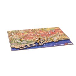 Puzzle 4D - Barcelona - 1200 Pcs