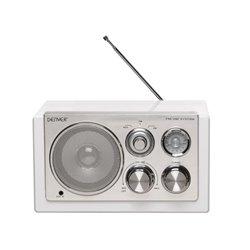 Tr-61White - Radio Au Design Élégant - Blanc