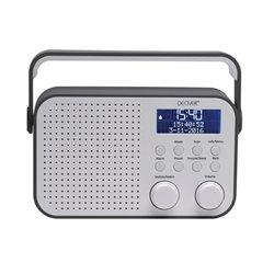 "Dab-39Grey - Radio Fm/Dab+ Avec Afficheur Lcd De 2.8"""