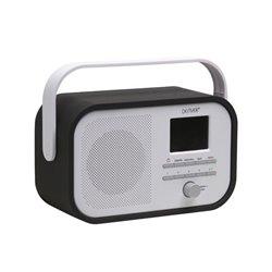 Dab-40Black - Radio Fm/Dab+ Avec Diaporama Dab - Noir
