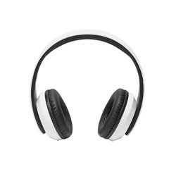Bth-203White - Casque Bluetooth - Blanc