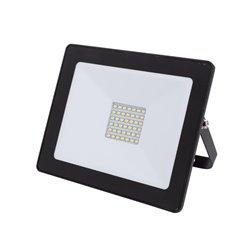 Projecteur Led Pour L'Extérieur - 30 W, Blanc Neutre - Noir