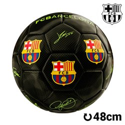 Ballon de Football Moyen Noir FC Barcelone