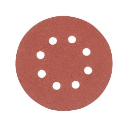 10 disques abrasifs perforés auto-agrippants 125 mm - Grain 120