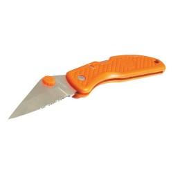 Couteau à ouverture facile fluo - 58 mm