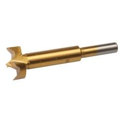 Mèche Forstner titanée - 25 mm