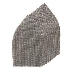 Lot de 10 triangles abrasifs treillis auto-agrippants 175 x 105 mm