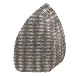 Lot de 10 triangles abrasifs treillis auto-agrippants 150 x 100 mm