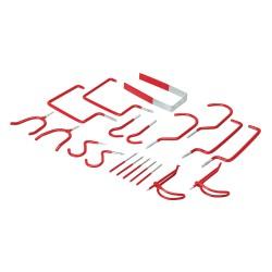Crochets de rangement assortis - 20 pcs