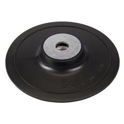 Plateau-support ABS pour disques fibres - 100 mm