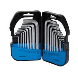 Coffret de 18 clés 6 pans/Torx - 18 pcs