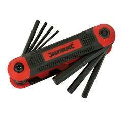 Monture de 8 clés mâles métriques Expert - 1,5 - 8 mm