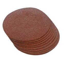 10 disques abrasifs auto-agrippants 300 mm - Grain 60