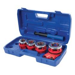 Coffret de filières de plombier - 13, 19, 25 et 32 mm