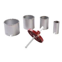 Coffret de scies-cloches en carbure de tungstène 6 pcs