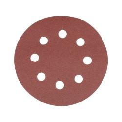 10 disques abrasifs perforés auto-agrippants 115 mm - Grain 240