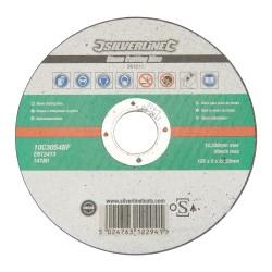Disque à tronçonner la pierre certifié OSA - 125 x 2 x 22,23 mm