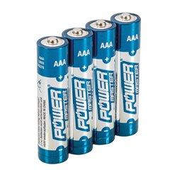 Lot de 4 piles alcalines Super LR03 type AAA - Lot de 4