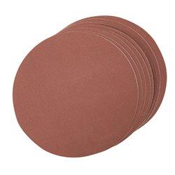 Lot de 10 disques abrasif autocollants 150 mm - Grain 240