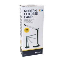 Lampe de Table LED PLATINET PDL9 USB 8W 300 lm 4000 - 6500K Lumière blanche