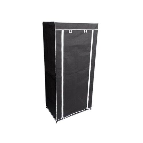 penderie en tissu 70 x 46 x 148 cm perel s per mp66. Black Bedroom Furniture Sets. Home Design Ideas
