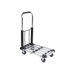 Chariot À Plate-Forme En Aluminium - 725 X 475 X 750 Mm - Charge Max. 150 Kg