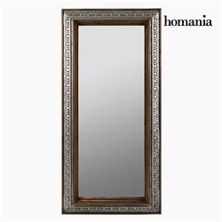 Miroir sur Pied Bronze Argent - Collection Vintage by Homania