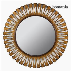 Miroir Rond Bronze - Collection Autumn by Homania