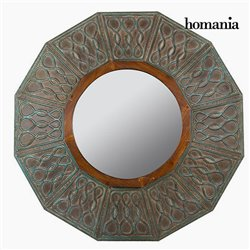Miroir Rond Bronze - Collection Vintage by Homania