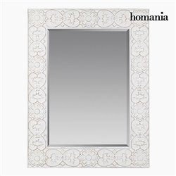 Miroir Carré Blanc - Collection Pure White by Homania